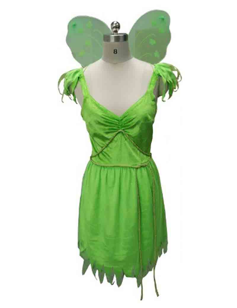 Tinkerbell Fairy Cosplay Costume