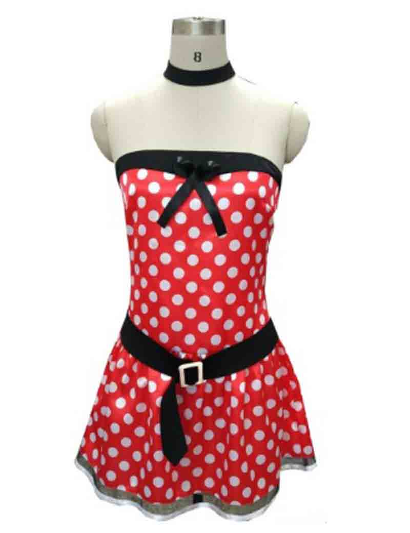 Minnie Mouse Cosplay Costume