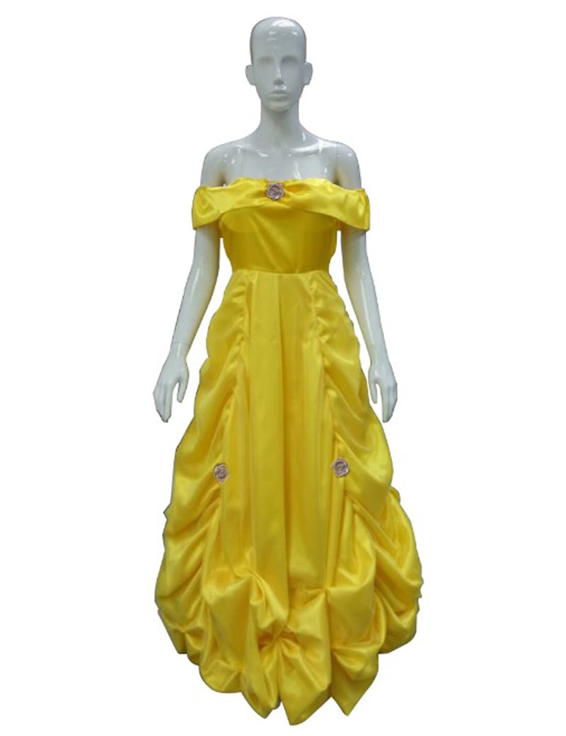Beauty and The Beast Predtige Belle Cosplay Costume